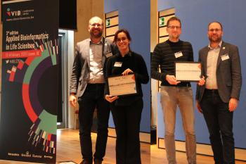 Poster Prize winners at ABLS20