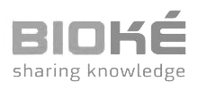 Bioke - company logo Sharing knowledge