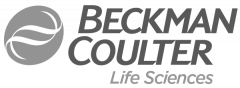 Sponsor logo - Beckman Coulter Black & white